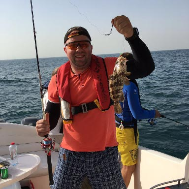 Bottom Fishing in Dubai